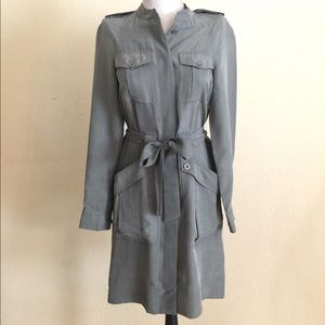 Marc by Marc Jacobs utility 100% Silk Dress
